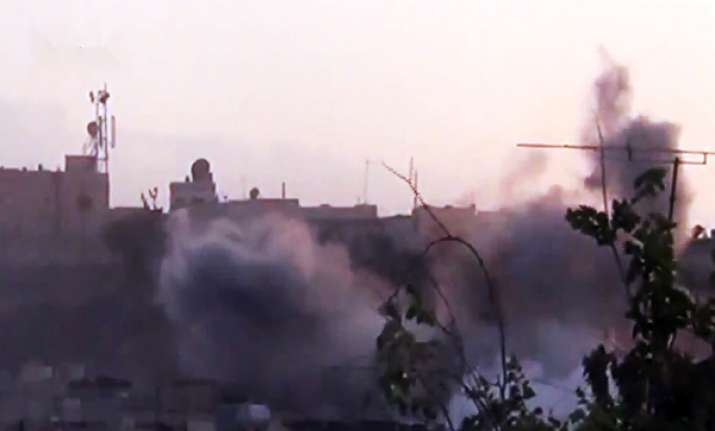 tv station attacked in syria 3 staffers killed