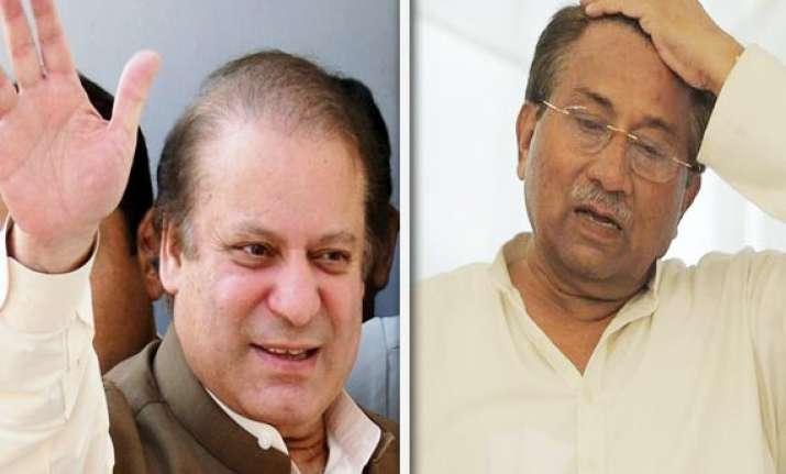 tables turned sharif pm musharraf under arrest