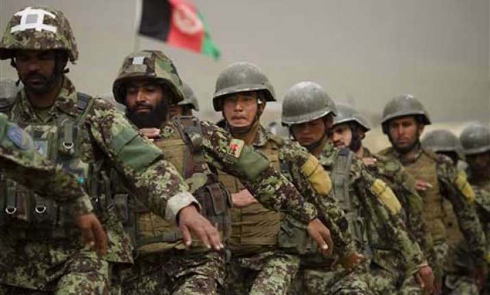 taliban insurgents attack nato base in afghanistan