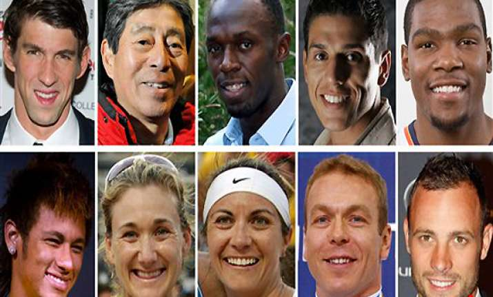 ten athletes to watch in london olympics
