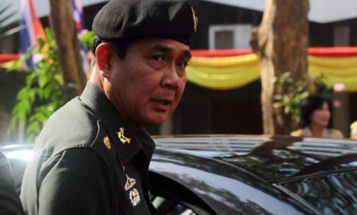 thai army disbands senate intensifies post coup crackdown