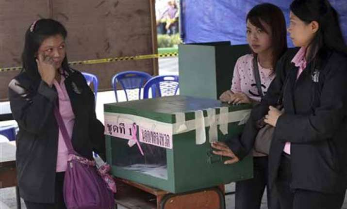 thai general elections begin