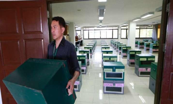 thailand to go to polls on sunday