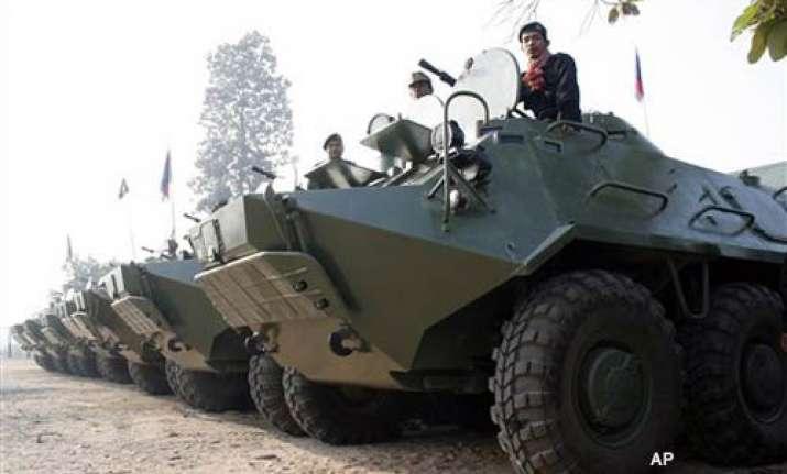 thailand cambodia clash again at disputed border