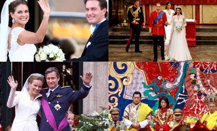 the world s top 10 royal weddings