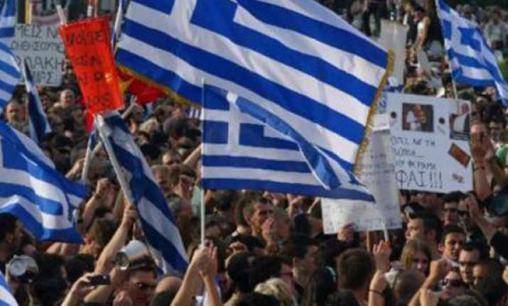 thousands rally against austerity in greece