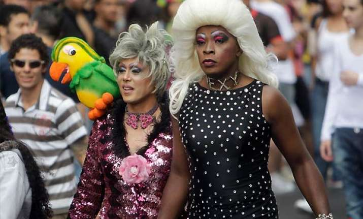 thousands join gay pride celebrations in sao paolo