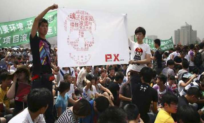 thousands protest to force closure of petrochemical plant