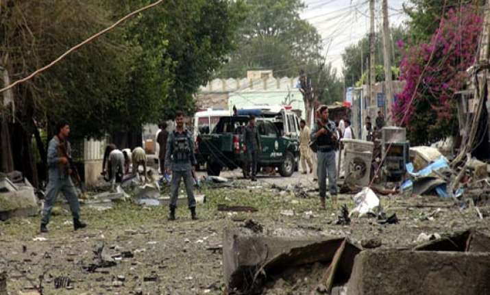 three killed in afghanistan bombing