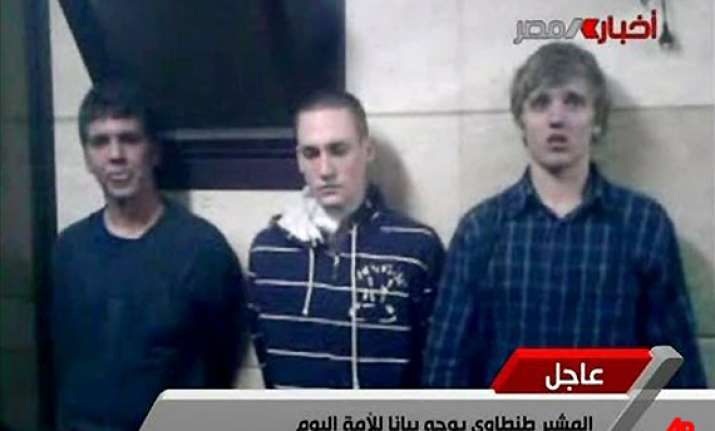 three american students arrested in cairo leave egypt
