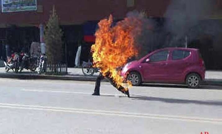 three tibetans immolate themselves in china