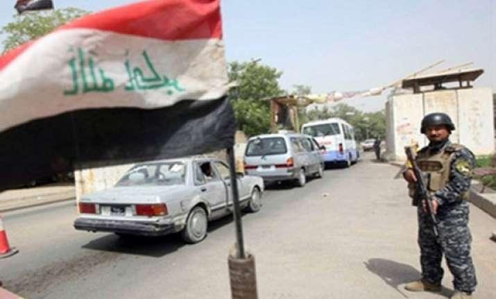 three killed 15 injured in iraq bombing