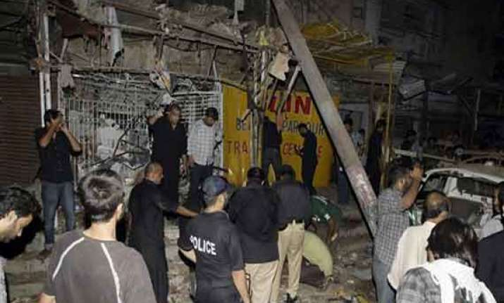 three killed 23 injured in karachi mosque blast