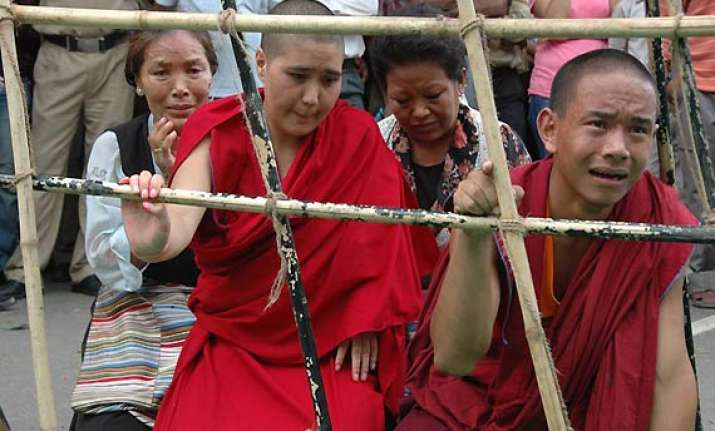 tibetan protests a reason for wen not coming to nepal media