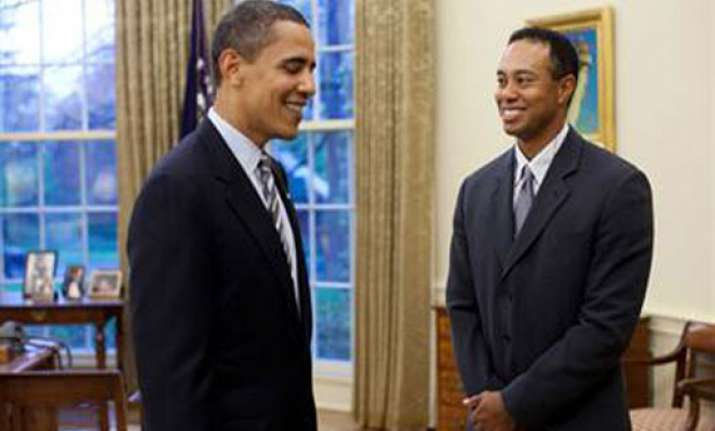 tiger woods joins vacationing obama for golf round