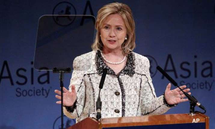time for gaddafi to leave power clinton