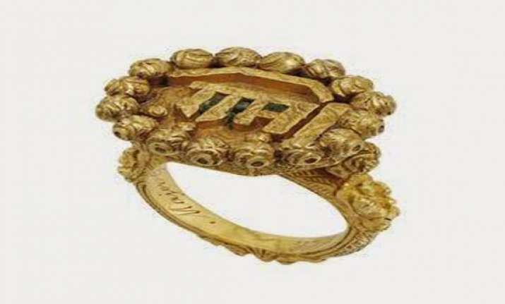 tipu sultan s ring auctioned in london