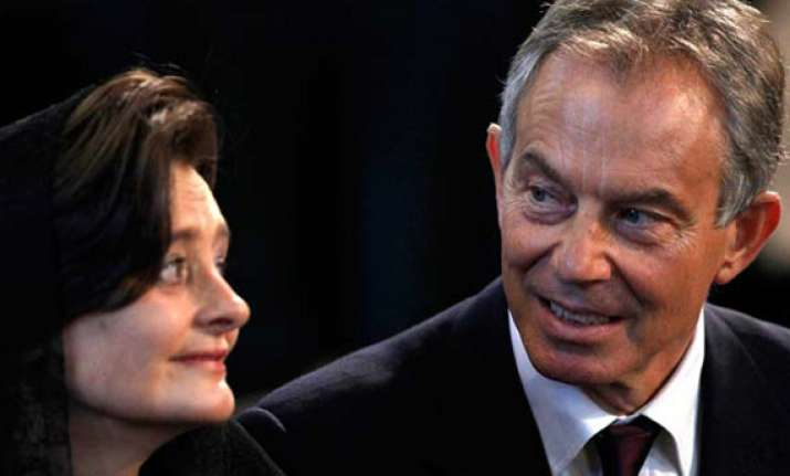 tony blair s wife sues notw over phone hacking