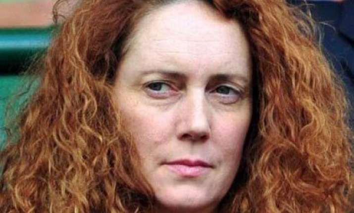 top murdoch group executive rebekah brooks arrested
