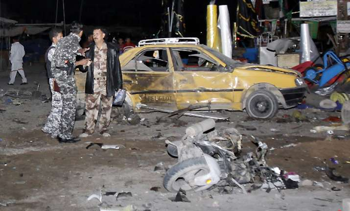 triple bombings in south iraq kill 11 injure 72