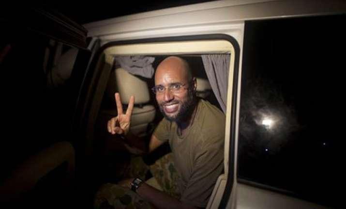 tripoli under control of gaddafi forces claims his son saif