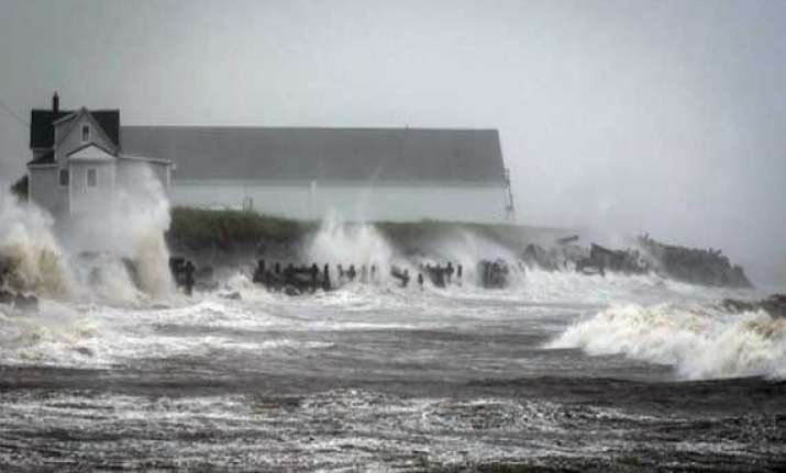 tropical storm arthur hits eastern canada causes power