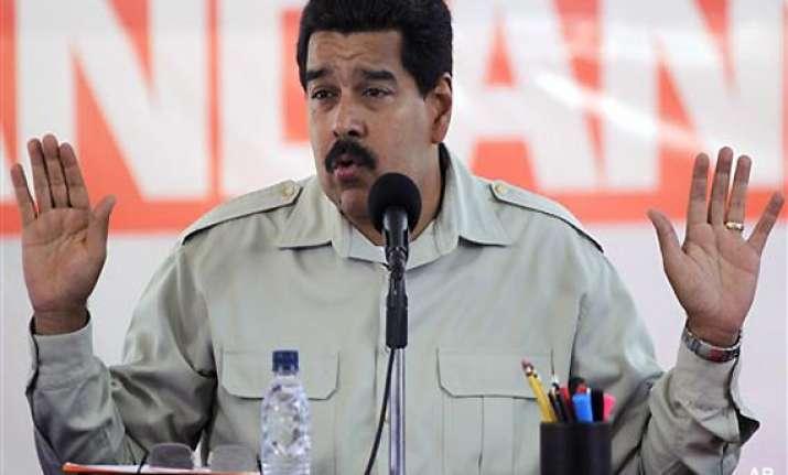 two held for plot to kill venezuelan president