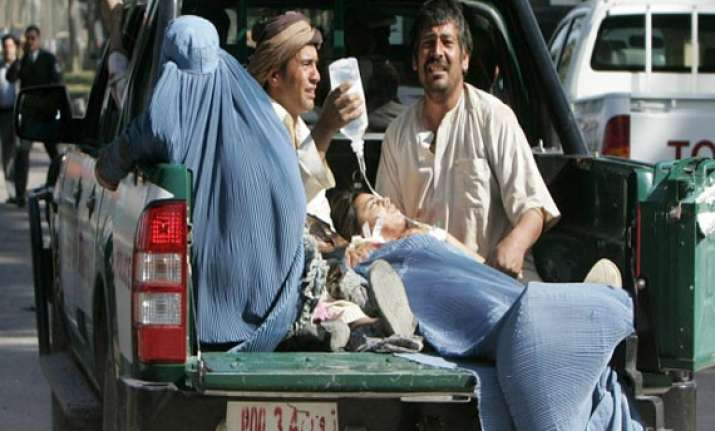 two suicide attacks kill 16 in afghanistan