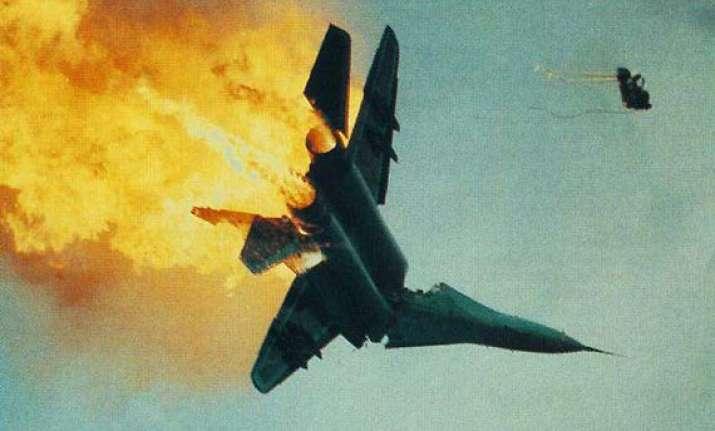 two algerian pilots die in mid air collision