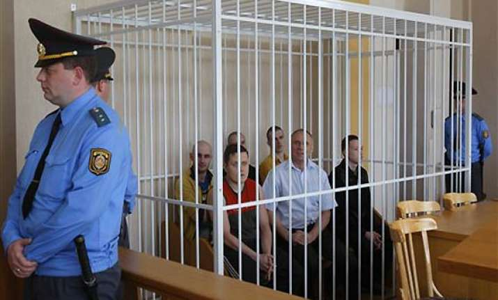 two ex presidential candidates jailed in belarus