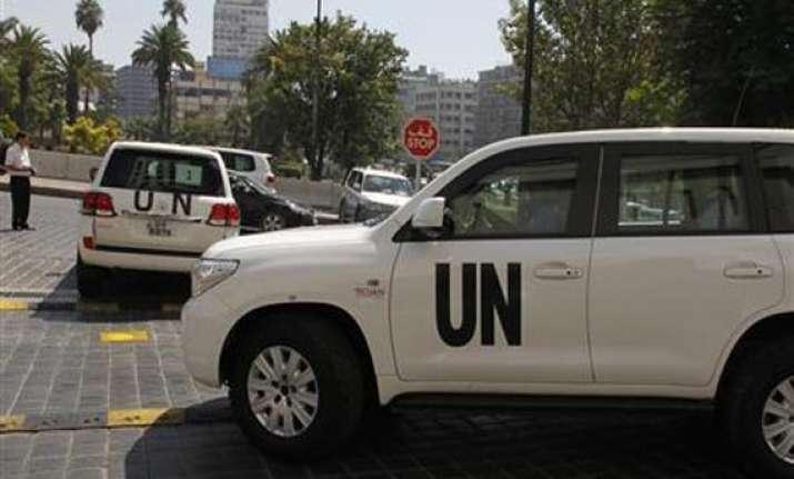 u.n. chemical weapons experts leave syria