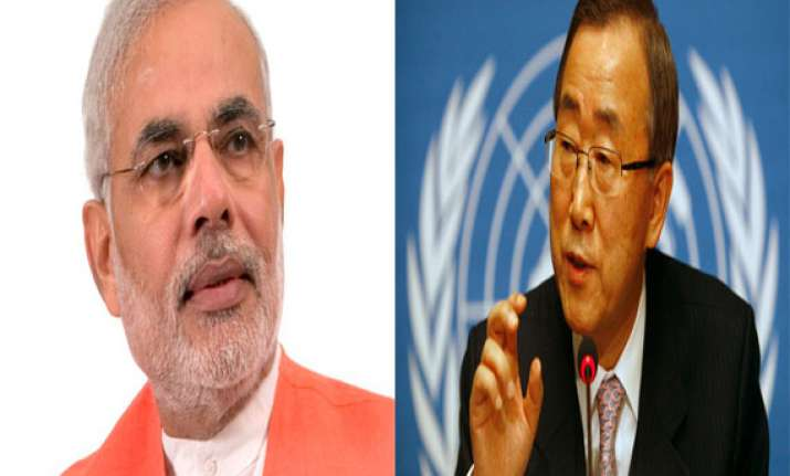 un chief hopes modi would attend un general assembly in