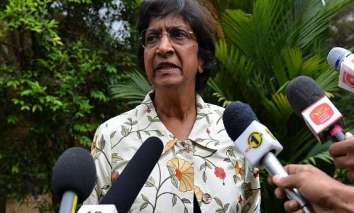 un human rights chief visits sri lanka