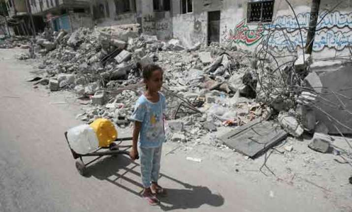 unicef urges all parties to protect children in gaza
