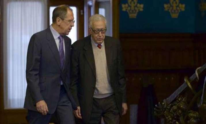 un envoy says syrian collapse threatens region