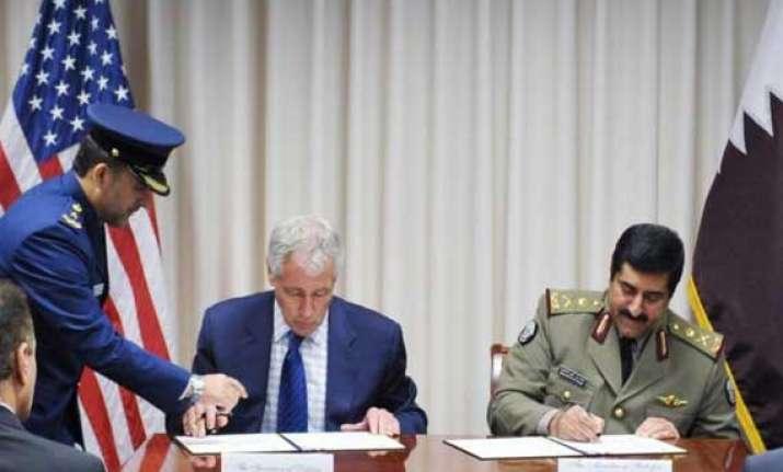 us qatar sign usd 11 bn arms deal