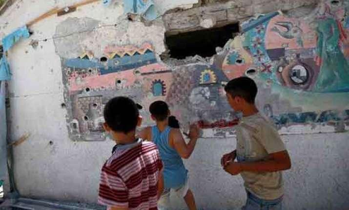 us denounces shelling of un school in gaza