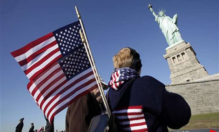 us celebrates statue of liberty s 125th birthday
