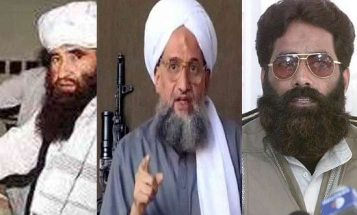 us gives pakistan list of 5 most wanted includes zawahiri