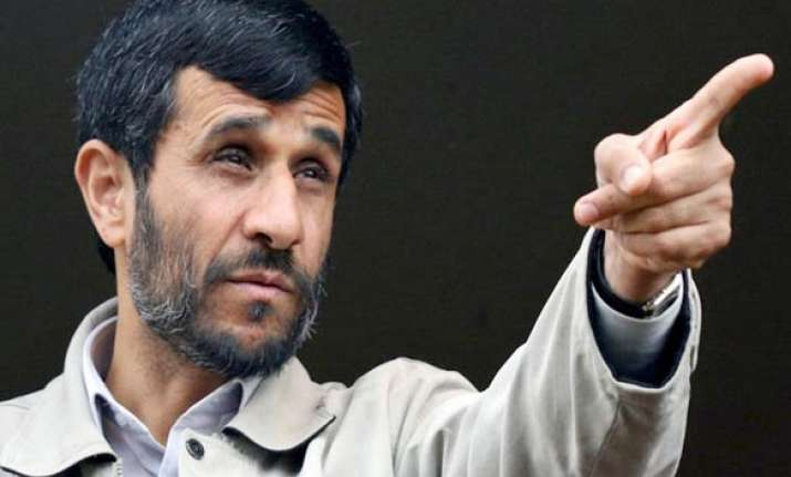 us israel will soon exit middle east says ahmedinejad