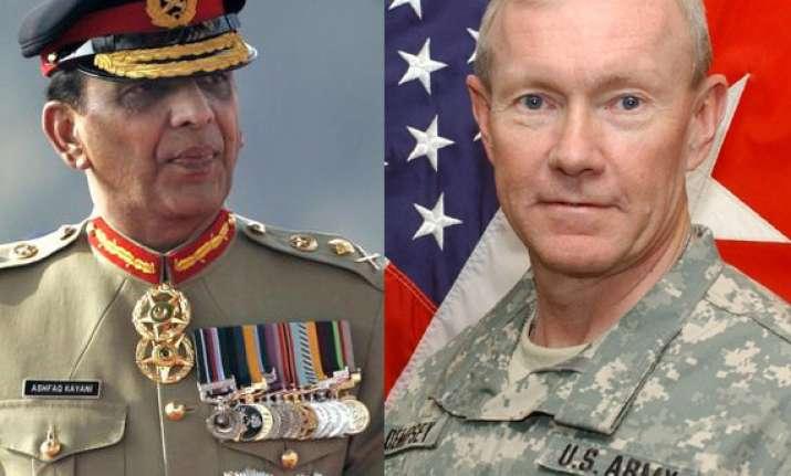 us top army general speaks to gen kayani