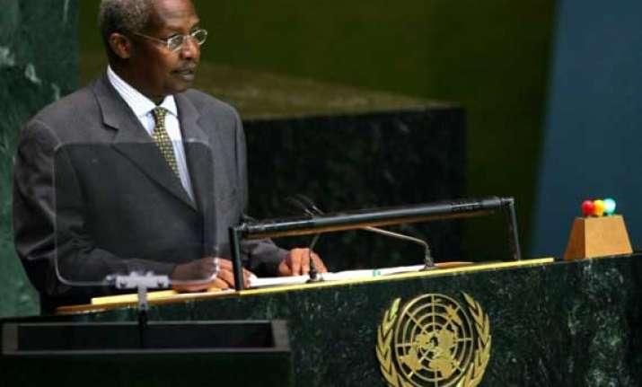ugandan fm elected un general assembly president