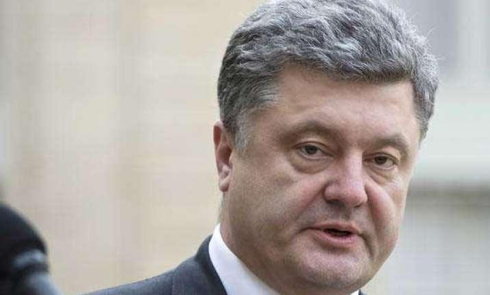 ukrainian president disbands parliament calls early polls