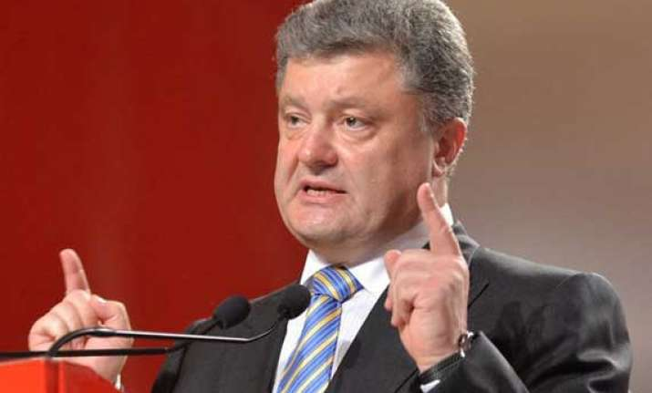 ukrainian president ready for dialogue with insurgents