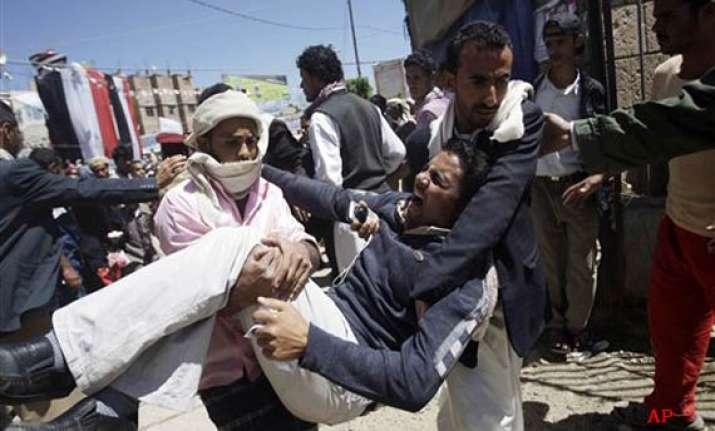 unrest kills 22 yemenis raid takes out qaeda chiefs