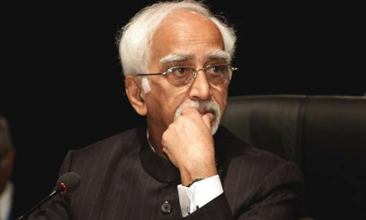 vice president ansari meets fidel castro as he wraps up
