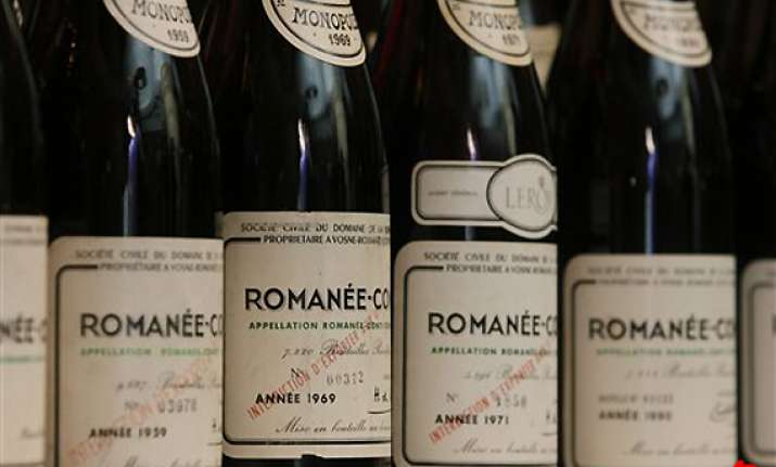 vintage burgundy bottles expected to fetch 800k at auction
