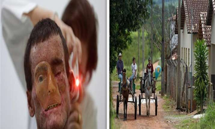 watch pics brazilian village where people melt away