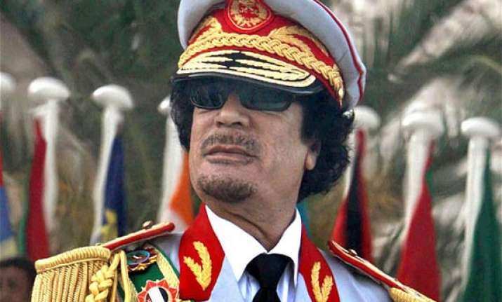watch how gaddafi lived like a monarch in pics