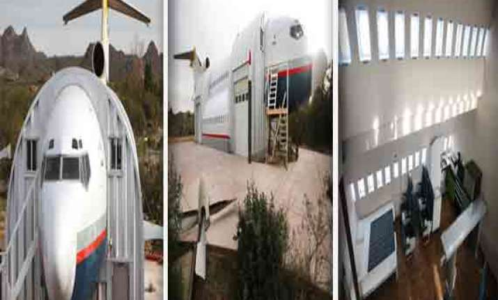 watch in pics the guest house made out of three aircraft